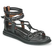 kengät Naiset Sandaalit ja avokkaat Airstep / A.S.98 POLA SQUARE Musta