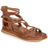 kengät Naiset Sandaalit ja avokkaat Airstep / A.S.98 POLA SQUARE Camel