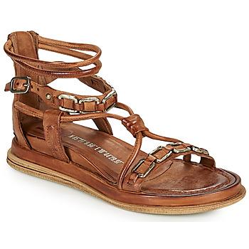 kengät Naiset Sandaalit ja avokkaat Airstep / A.S.98 POLA SQUARE Kamelinruskea