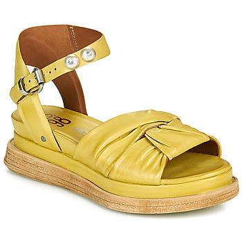 kengät Naiset Sandaalit ja avokkaat Airstep / A.S.98 LAGOS NODE Keltainen