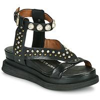 kengät Naiset Sandaalit ja avokkaat Airstep / A.S.98 LAGOS STUD Musta