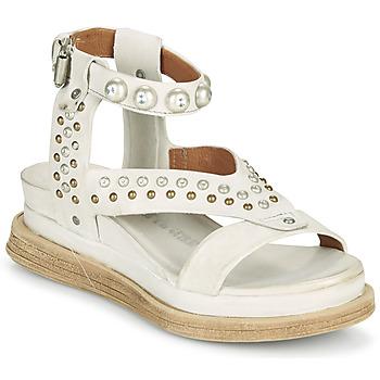 kengät Naiset Sandaalit ja avokkaat Airstep / A.S.98 LAGOS STUD Harmaa / Beige