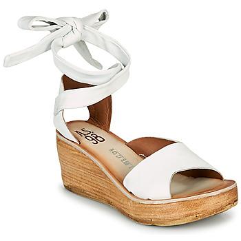 kengät Naiset Sandaalit ja avokkaat Airstep / A.S.98 NOA LACE Valkoinen