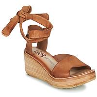 kengät Naiset Sandaalit ja avokkaat Airstep / A.S.98 NOA LACE Kamelinruskea