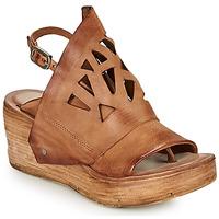 kengät Naiset Sandaalit ja avokkaat Airstep / A.S.98 NOA GRAPH Camel