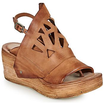 kengät Naiset Sandaalit ja avokkaat Airstep / A.S.98 NOA GRAPH Kamelinruskea