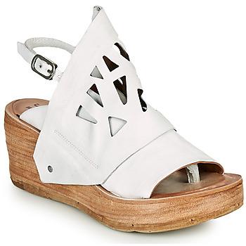 kengät Naiset Sandaalit ja avokkaat Airstep / A.S.98 NOA GRAPH Valkoinen