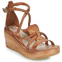 kengät Naiset Sandaalit ja avokkaat Airstep / A.S.98 NOA STRAP Kamelinruskea