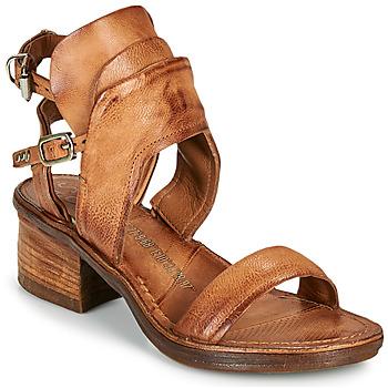 kengät Naiset Sandaalit ja avokkaat Airstep / A.S.98 KENYA BUCKLE Kamelinruskea