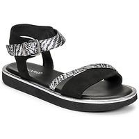 kengät Naiset Sandaalit ja avokkaat Regard ANGERS Musta