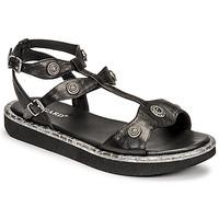 kengät Naiset Sandaalit ja avokkaat Regard ANGLET Musta