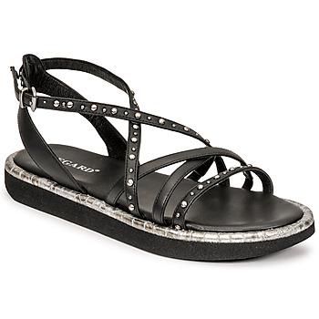 kengät Naiset Sandaalit ja avokkaat Regard ARLES Musta