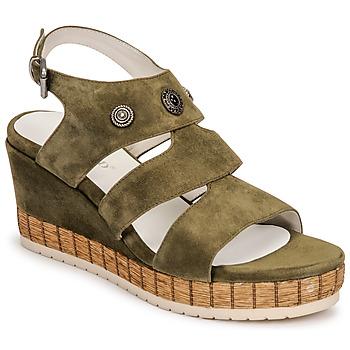 kengät Naiset Sandaalit ja avokkaat Regard DOLLIS Khaki