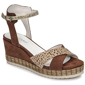 kengät Naiset Sandaalit ja avokkaat Regard DOUAI Ruskea