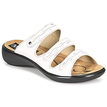 kengät Naiset Sandaalit Romika Westland IBIZA 66 Valkoinen