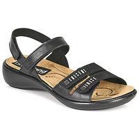 kengät Naiset Sandaalit ja avokkaat Romika Westland IBIZA 86 Musta