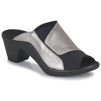 kengät Naiset Sandaalit Romika Westland ST TROPEZ 244 Musta / Kulta