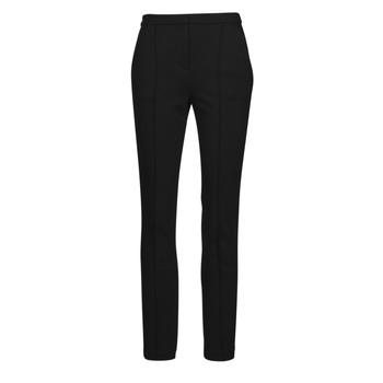vaatteet Naiset 5-taskuiset housut Karl Lagerfeld SUMMERPUNTOPANTS Musta