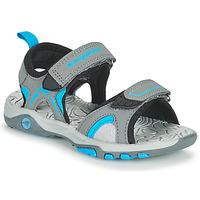 kengät Lapset Sandaalit ja avokkaat Kangaroos K-MONT Harmaa / Sininen