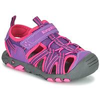 kengät Tytöt Sandaalit ja avokkaat Kangaroos K-ROAM Vaaleanpunainen / Harmaa