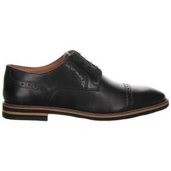 kengät Miehet Derby-kengät Salamander Vasco Flats Musta