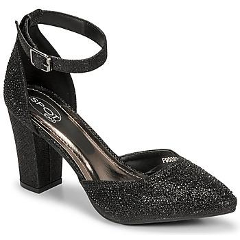 kengät Naiset Sandaalit ja avokkaat Spot on F90092 Musta