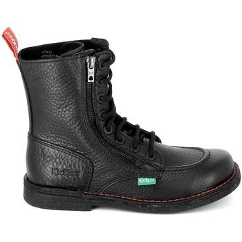 kengät Bootsit Kickers Meetickzip Noir Musta