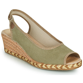 kengät Naiset Espadrillot Damart 43775 Khaki