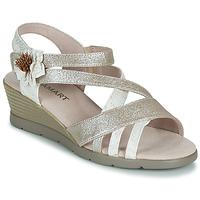 kengät Naiset Sandaalit ja avokkaat Damart 61170 Hopea