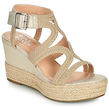 kengät Naiset Sandaalit ja avokkaat Bullboxer 175030F2S Beige