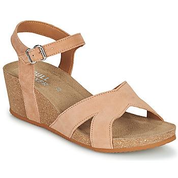 kengät Naiset Sandaalit ja avokkaat Bullboxer 502000E2C Beige