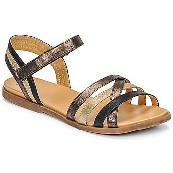 kengät Tytöt Sandaalit ja avokkaat Bullboxer ALM003F1S-ROSE Musta