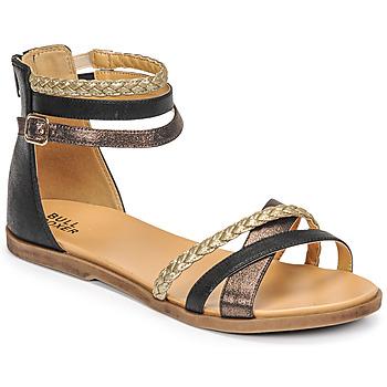 kengät Tytöt Sandaalit ja avokkaat Bullboxer ALM013F1S-ROSE Musta