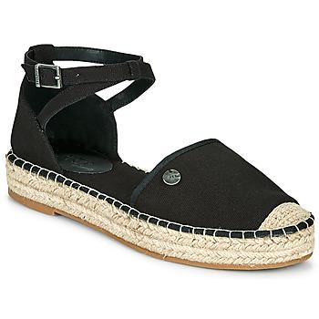 kengät Naiset Espadrillot Esprit TUVA Musta