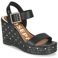 kengät Naiset Sandaalit ja avokkaat Gioseppo KIRBY Musta