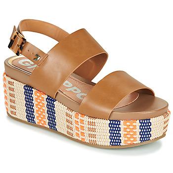kengät Naiset Sandaalit ja avokkaat Gioseppo COWLEY Konjakki