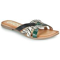 kengät Naiset Sandaalit Gioseppo STILES Black / White
