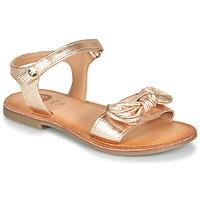 kengät Tytöt Sandaalit ja avokkaat Gioseppo CLEBER Vaaleanpunainen / Kulta