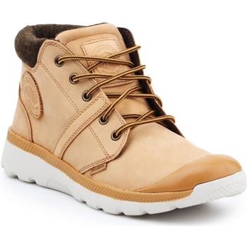 kengät Miehet Korkeavartiset tennarit Palladium Manufacture Pallaville HI Cuff L 05160-280-M brown