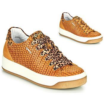 kengät Naiset Matalavartiset tennarit IgI&CO SHOUHAI Keltainen