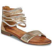 kengät Naiset Sandaalit ja avokkaat IgI&CO BRONIA Kulta / Cognac