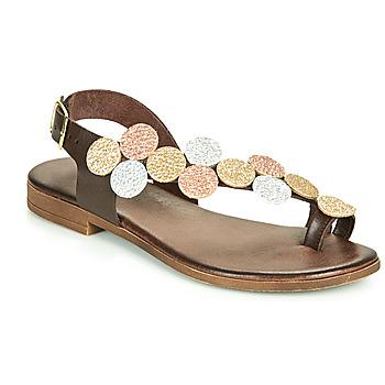kengät Naiset Sandaalit ja avokkaat IgI&CO CROPPA Ruskea