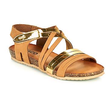 kengät Naiset Sandaalit ja avokkaat IgI&CO DREZZINA Konjakki / Kulta