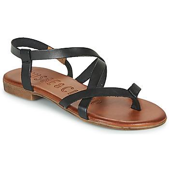 kengät Naiset Sandaalit ja avokkaat Musse & Cloud ESTELA Musta