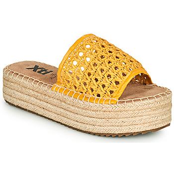kengät Naiset Sandaalit Xti FREDI Keltainen