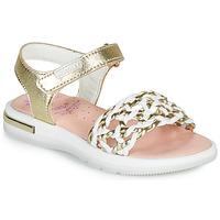kengät Tytöt Sandaalit ja avokkaat Pablosky DANIE Kulta / Valkoinen