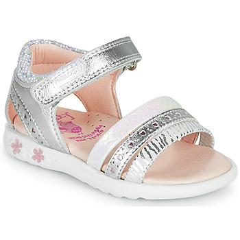 kengät Tytöt Sandaalit ja avokkaat Pablosky ELLO Hopea