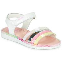 kengät Tytöt Sandaalit ja avokkaat Pablosky MOUNNA Valkoinen / Pink