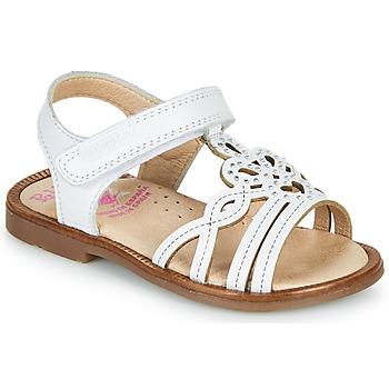 kengät Tytöt Sandaalit ja avokkaat Pablosky MARIE Valkoinen