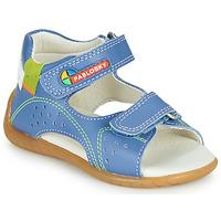 kengät Pojat Sandaalit ja avokkaat Pablosky KINNI Sininen